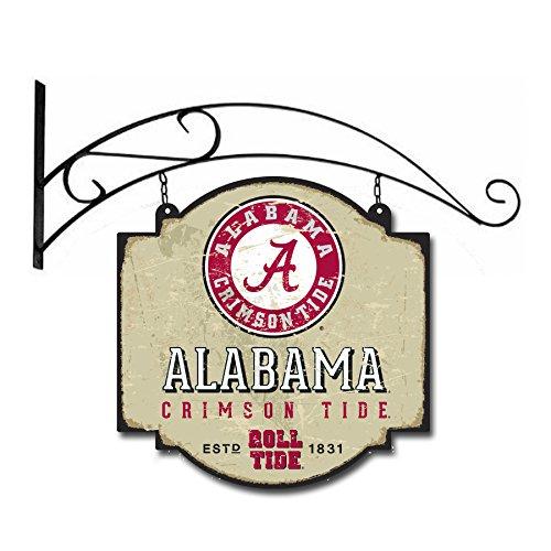 Alabama Sign Tide Crimson - Winning Streak NCAA Alabama Crimson Tide Vintage Tavern Sign
