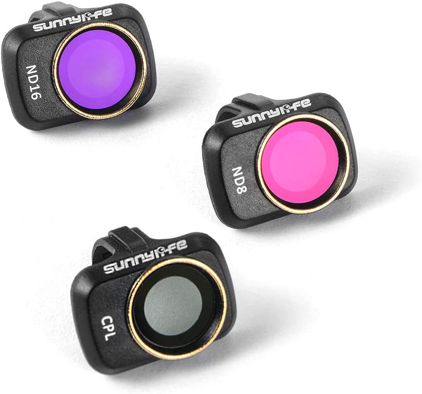 Stepworlf ND8 ND16 CPL Lens Filters Protective Accessory Compatible for Mavic Mini Drone Kit RC1185