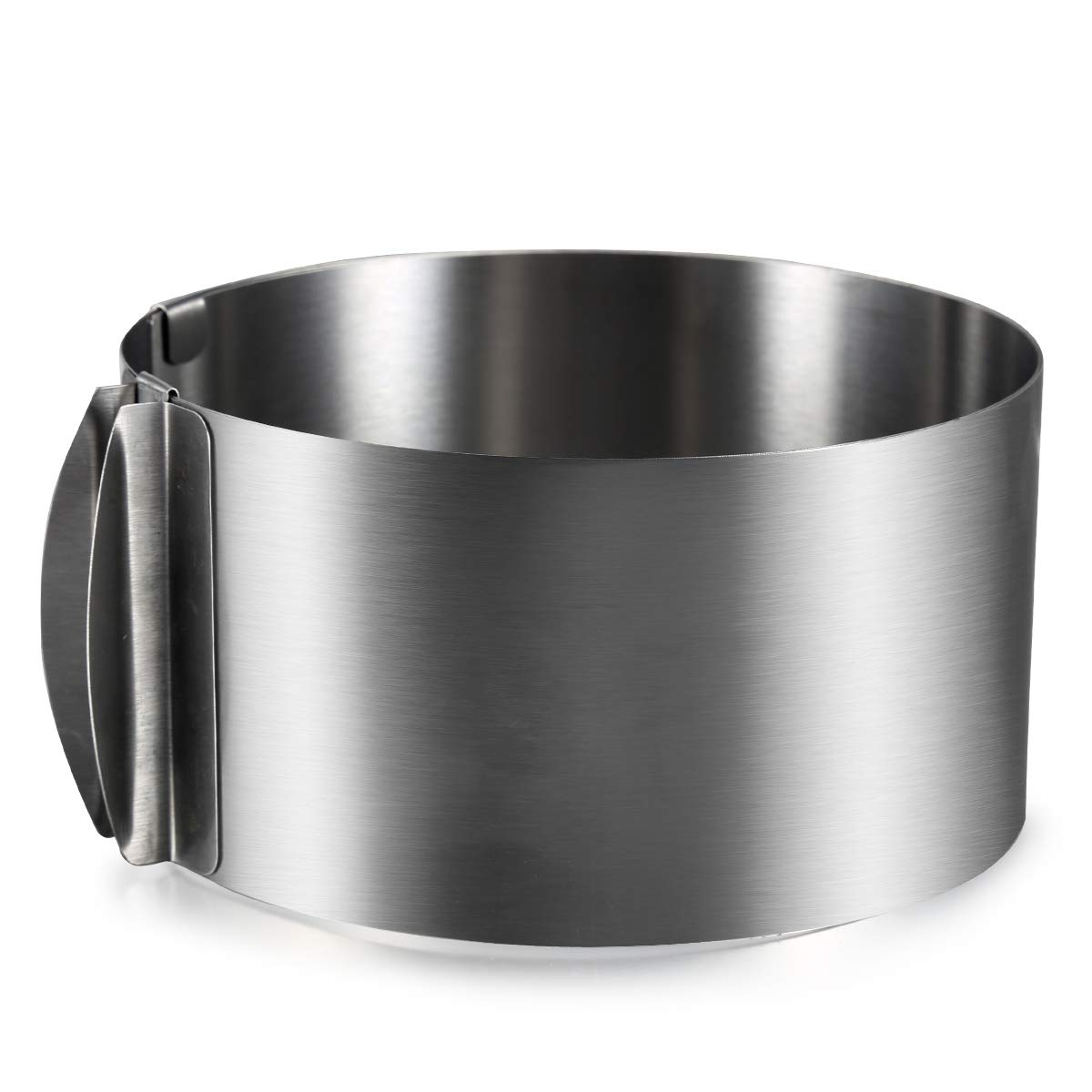 ONEDONE verstellbar Kuchenring 6 zu 12 inch Edelstahl Tortenring ...