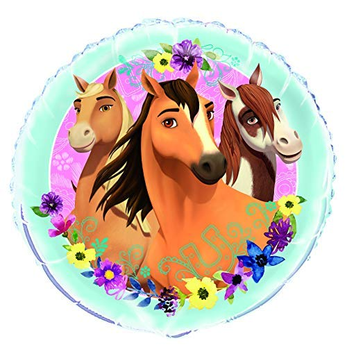 Mayflower Products Spirit Riding Free Party Supplies 8th Birthday Tan Horse Balloon Bouquet Decorations
