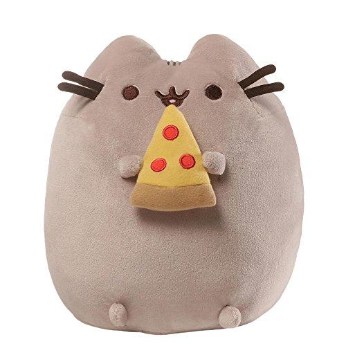 Gund 4058937 Peluche Pusheen avec pizza