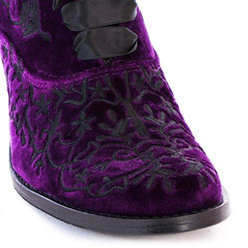 Boots & Braces Stiefel Purple Velvet Moon