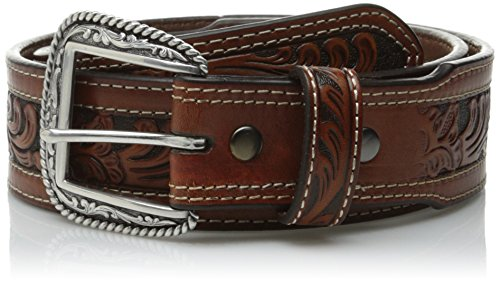 Ariat Men's Straight Oak Taper, Tan, 34 (Western Mens Belts Leather)