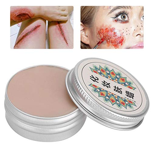 Halloween Makeup Wax, Professional Stage Halloween Fake Wound Scars Wax Halloween Makeup(01#) ()