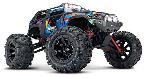 Traxxas 1/16 Summit 4WD Extreme Terrain Truck, Rock n' Roll, 1/16 Scale (Rc Summit Truck)