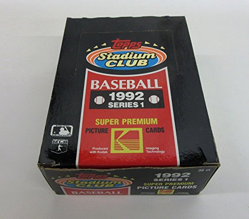 1992 Topps Stadium Club Baseball Series 1 Box ()