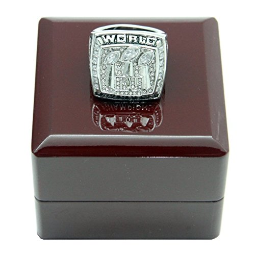 (YIYICOOL New York Giant 2007 Super Bowl Championship Rings)