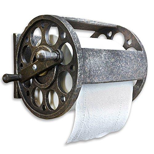 (Slifka Sales Fishing Reel Toilet Paper Holder)