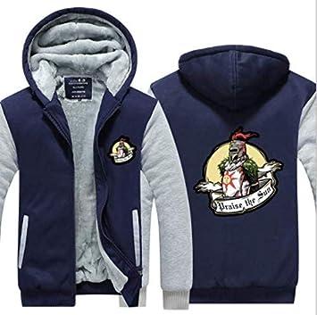 冬に適しメンズパーカーフルジップベルベット印刷太いフード付きセーターコートフリースパーカー、
