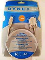 Dynex DX-UBDB9 USB PDA/Serial Adapter Cable - Serial adapter - USB - RS-232