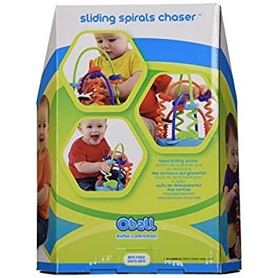 O Ball Sliding Spirals Toy (Discontinued by Manufacturer) : Baby Touch And Feel Toys : Baby