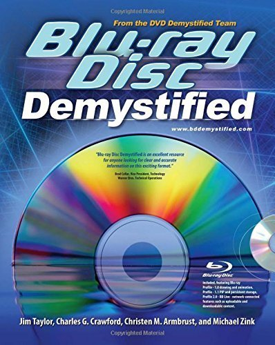 Disc Chr - Blu-ray Disc Demystified 1st edition by Taylor, Jim, Zink, Michael, Crawford, Charles, Armbrust, Chr (2008) Paperback