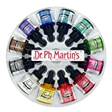 Dr. Ph. Martin's Bombay India Ink Bottles, 1.0 oz, Set of 12 (Set 1)