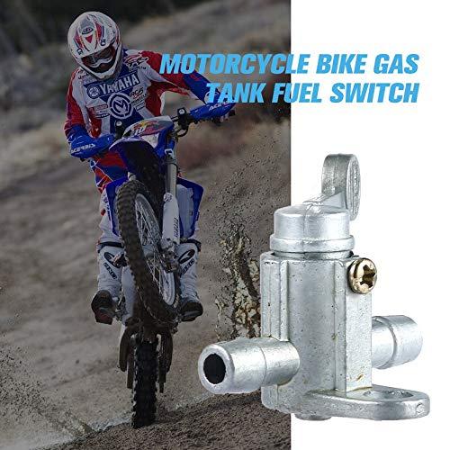 Astilla Motocicleta Bicicleta Tanque de gasolina Interruptor de combustible V/álvula de la v/álvula de aceite Petcock Dirt Bike SGG 5//168mm Fuel Tap Petcock