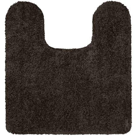 "Better Homes & Gardens Thick and Plush Nylon Bath Rug Collection, 20""x21.5"" Contour, Brown Basket from Maples Industries Inc."
