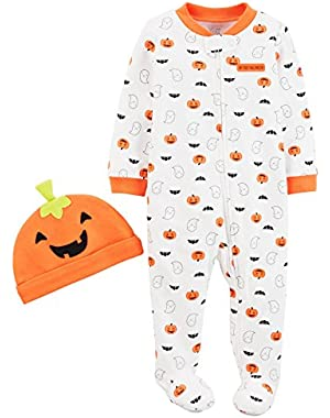 Just One You Made by Carter's Baby Pumpkin Sleep N' Play and Hat Set (6 Months)
