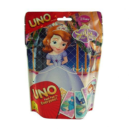 Disney Sofia the First Uno Card Game in Foil Bag