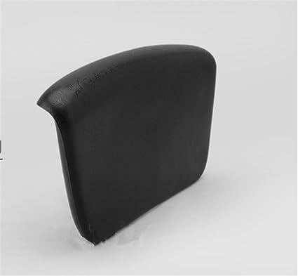 Negro cuadrado elegante bañera almohada espuma de poliuretano de masaje Almohadas, 17 * 28 cm