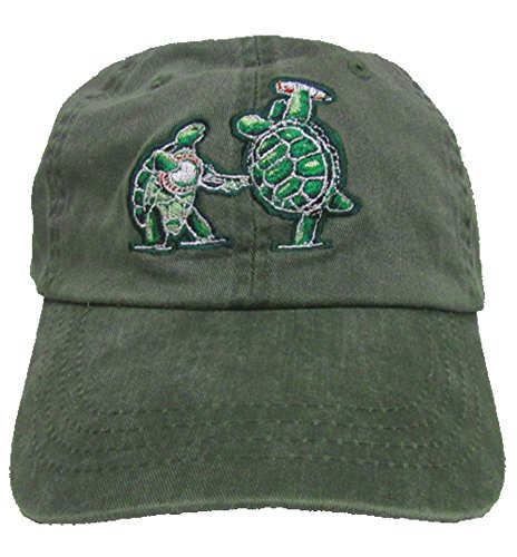 Terrapin Turtle - Grateful Dead Terrapins Embroidered Baseball Cap
