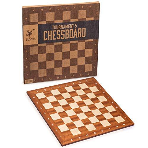 Husaria Professional Tournament Chess Board, No. 5, 19 Inches