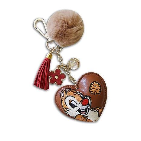 KICKKICK® Llavero Cip y Ciop Original Disney - de Piel ...