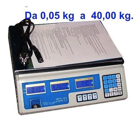 Prodigital - Báscula electrónica digital (máximo 40 kg, 4 funciones diferentes), batería interna recargable incluida: Amazon.es: Bricolaje y herramientas