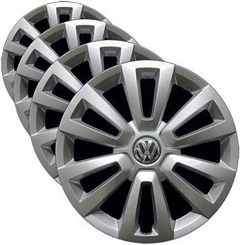 OEM Original VW - Cubierta para rueda (repuesto Tapacubos para Volkswagen Beetle 2012 - 2017 (Juego de 4 fundas para ruedas de profesionalmente ...