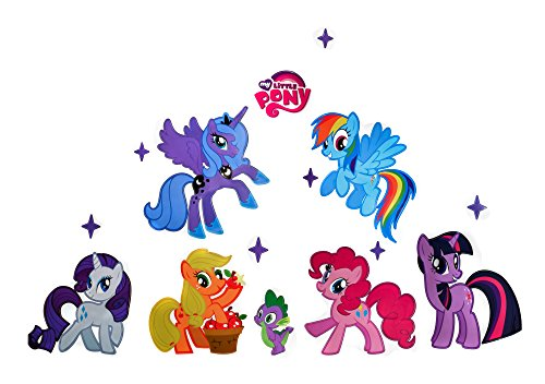 XXL Aufkleber My Little Pony Wandtattoo Kinderzimmer Sticker 50x70