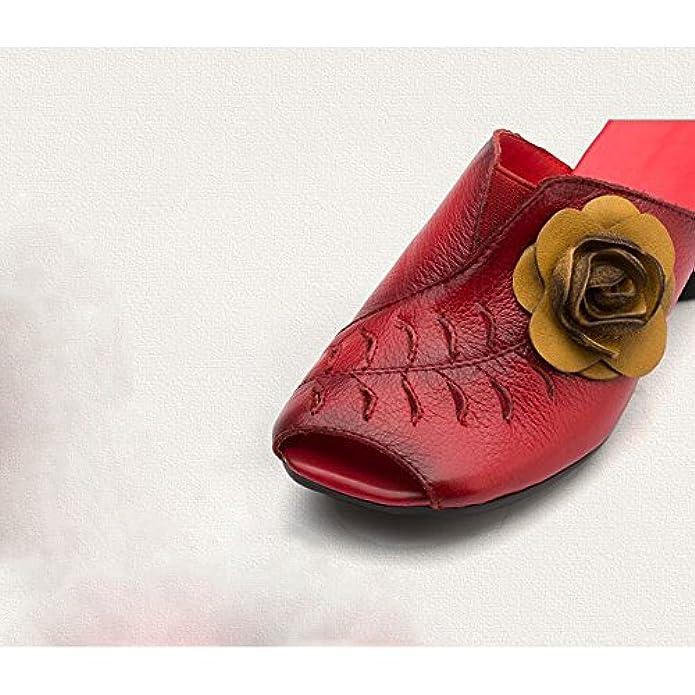 Scarpe E Borse Da Donna Sandali Bfmei Stile Etnico Pantofole Tacco Cave Fiori Pantofole Casual
