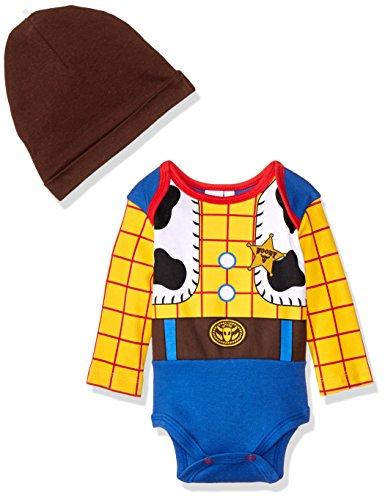 Disney TYM5608 Pañalero Woody para Bebés,multicolor, talla 18 meses