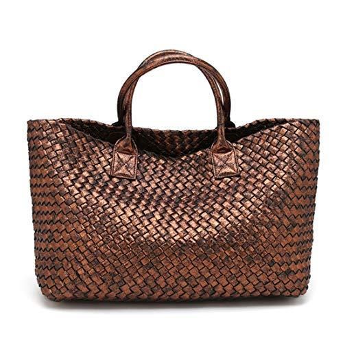 Mano Da White color A Kervinzhang Bronze Con Serpentina Donna Bag Borsa Joker Tracolla Shopping wq770TBxn