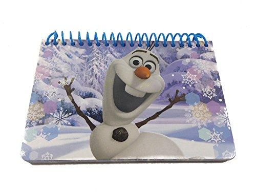 [Disney Frozen Snowman Olaf Autograph Book Note Pad] (Disney Frozen Snowman)