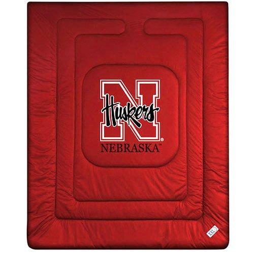 NCAA Nebraska Cornhuskers Sideline Comforter (Nebraska Cornhuskers Twin Comforter)