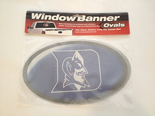 Duke Blue Devils Window - Duke Blue Devils Window Banner Ovals