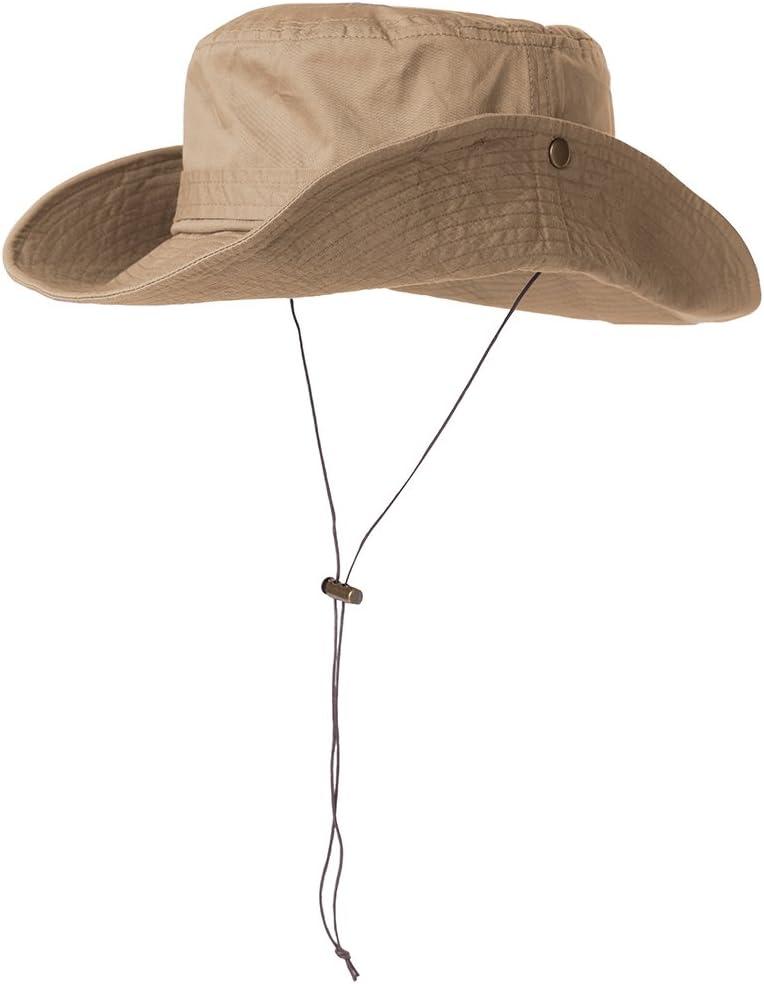 SIGGI Bucket Boonie Cord Golf Hat Fishing Hiking Cap Cotton for Men Women UPF 50
