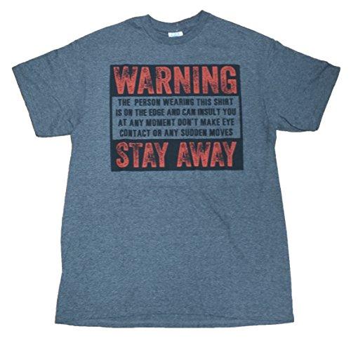 Ptshirt.com-19047-Warning Stay Away Don\'t Make Any Sudden Movements Graphic T-Shirt-B00MH9ZR4Q-T Shirt Design