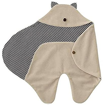 LEORX Saco de dormir de arrullo para bebé, multifuncional, polar, ideal para cochecito: Amazon.es: Bricolaje y herramientas