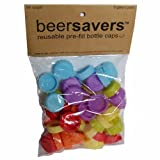 Beer Savers - Silicone Rubber Bottle Caps (54 Pack)