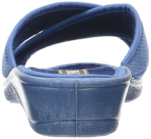 Rondinaud D-e17-valliere - Mules Mujer Azul (Bleu)