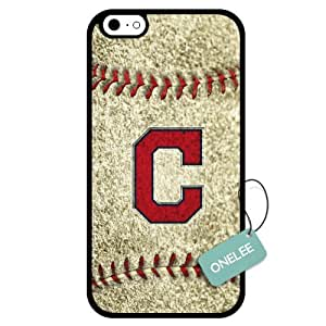 Onelee(TM) - Customized MLB Cleveland Indians Team Logo Design TPU Apple iPhone 6 Case Cover - 3