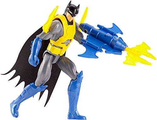 DC Justice League Action Wing Tech Batman Figure with Accessory, 12