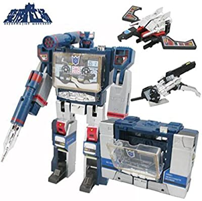 Generic Deformed toys Transformers G1 Soundwave Decepticon 21cm with tapes machine Action Figure Toys