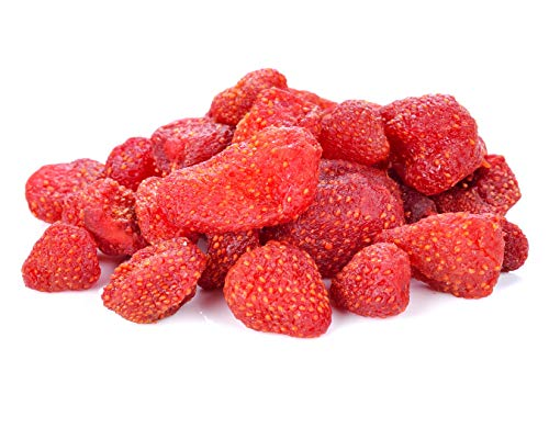 Anna and Sarah Dried Strawberries in Resealable Bag 1 Lb