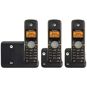 motorola l513bt dect 6 0 3 handset cordless phone with digital rh amazon ca Alcatel One Touch Manual Motorola Radios