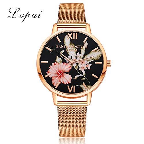 Pulseras Mujer Relojes Lvpai Relojes De Cuarzo para Mujer Relojes De Vestir para Mujer Relojes De
