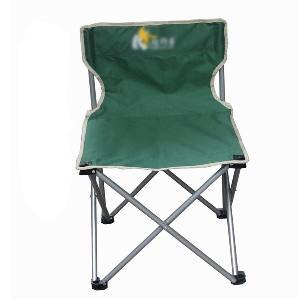 ZGL 旅行椅子 屋外折りたたみチェアポータブルビーチカジュアルチェア折りたたみ釣り用スツール背もたれ椅子屋外椅子の色オプション ( 色 : 緑 , サイズ さいず : Pack of 1 ) B07C77HFS9 Pack of 1|緑 緑 Pack of 1