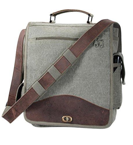 Rothco Vint Canvas M-51 Engineers Bag-Od/Leather - Engineer Magazine
