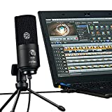 USB Microphone,Fifine Metal Condenser Recording