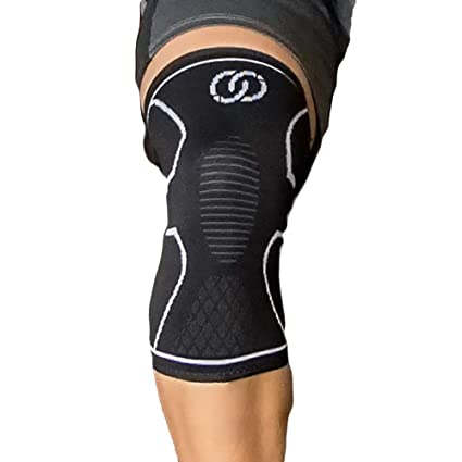 04bc4cb93d Compressions Knee Sleeve - Knee Support - Single Wrap for Men, Women, Youth  - Meniscus Tear, Arthritis, ACL, Running, Patella Stabilizer,  Weightlifting, ...