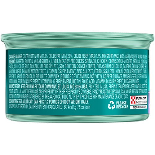 Purina-Fancy-Feast-Wild-Salmon-Florentine-Cat-Food-24-3-oz-Pull-top-Can